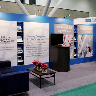 Foley Hoag Trade Show Exhibit