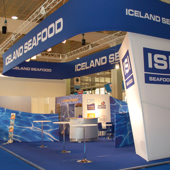 Iceland Seafood Island Trade Show Exhibit