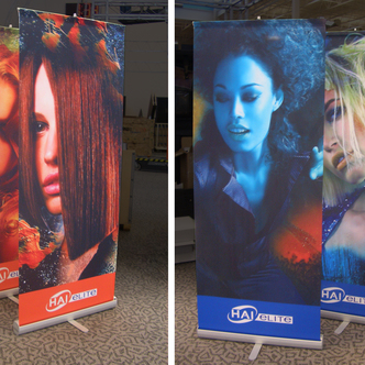HAI Elite Banner Stand Trade Show Displays