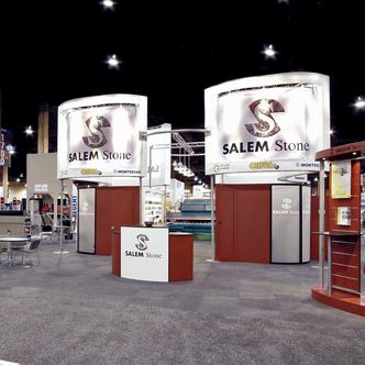 Salem Stone Island Trade Show Exhibit