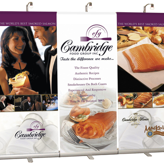 Cambridge Banner Stand Trade Show Display