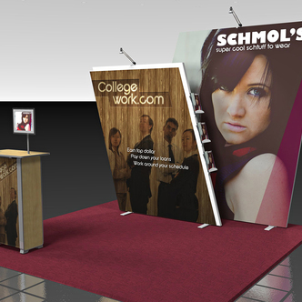 Schmols Custom-Shape Display