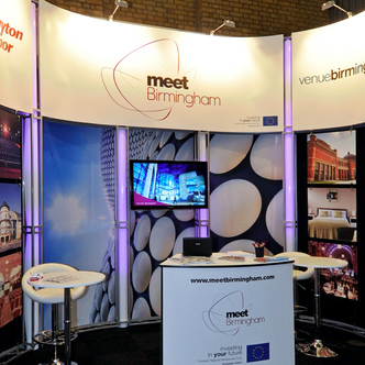 Meet Birmingham Exhibition Stand