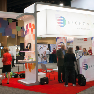 Erchonia Island Trade Show Exhibit