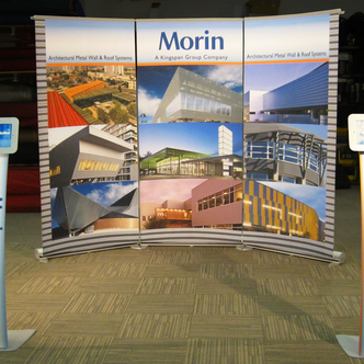 Morin Portable Banner Stand Display Design