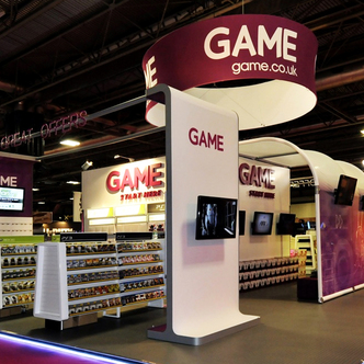 Game Island Exhibition Stand
