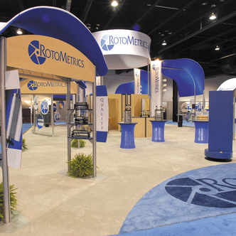 Rotometrics Custom Modular Exhibit