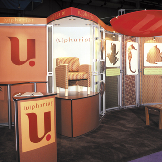 Uphoria Inline Trade Show Exhibit Design