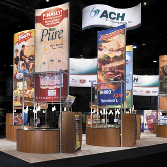 ACH Trade Show Exhibit design