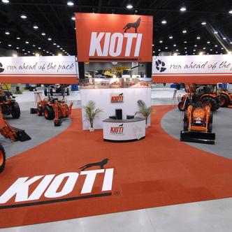 Kioti Trade Show Exhibit