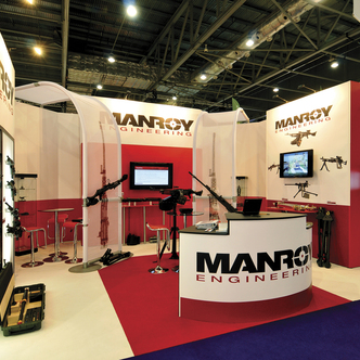 Manroy Trade Show Exhibition Stand