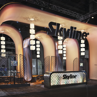 Skyline Exhibitor TRade Show Exhibit