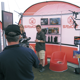 Spyder Event Inline Exhibit