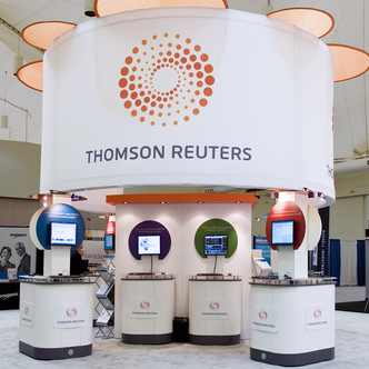 Thomson Reuters Island Exhibit