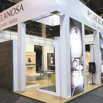 Porcelanosa Trade Show Exhibit Design