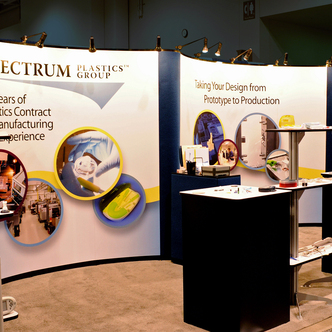 Spectrum Plastics Trade Show Display Design