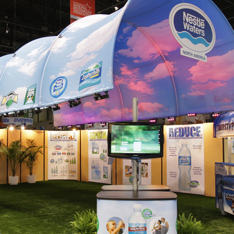 Nestle Waters Tradeshow Exhibit