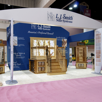 LJ Smith Custom Modular Trade Show Exhibit
