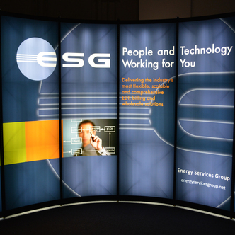 ESG Portable Pop-Up Display