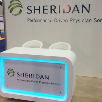 Sheridan Exhibit Custom Table