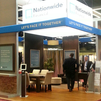 Nationwide Finance Trade Show Exhibit