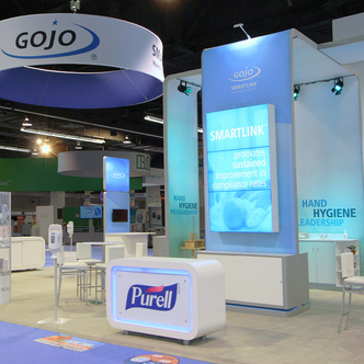 GoJo Trade Show Exhibit