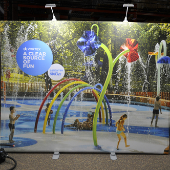 Vortex WindScape Trade Show Display