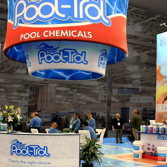 Pool-Trol WindScape trade show Exhibit