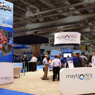 Maytronics WindScape trade show Exhibit