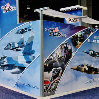 Top Aces USA trade show display