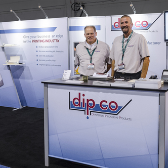 DIP Co. Trade Show Exhibit