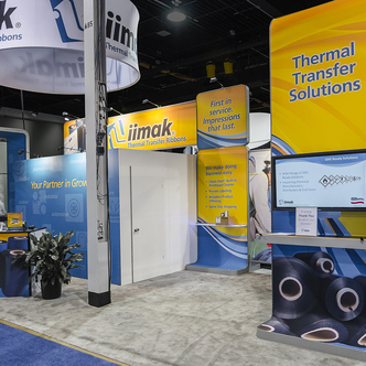 Iimak trade show exhibit