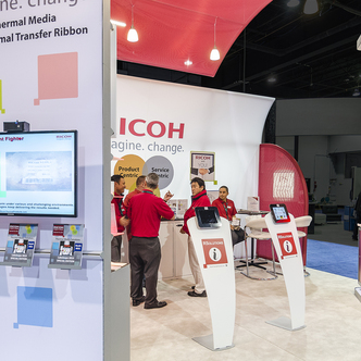 Ricoh Trade Show Exhibit