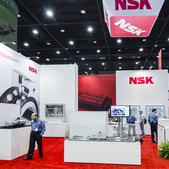 NSK trade Show Island Exhibit