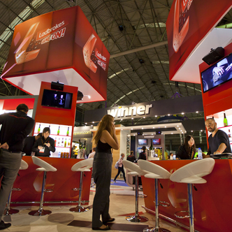 Ladbrokes Trade Show Stand Exhibit