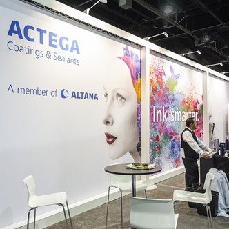 Actega Trade Show Exhibit