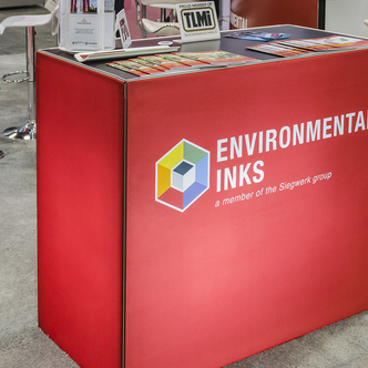 Environmental Inks  Trade Show Counter