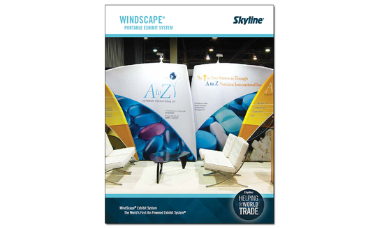 Request a Skyline WindScape® Portable Display System Product Brochure!