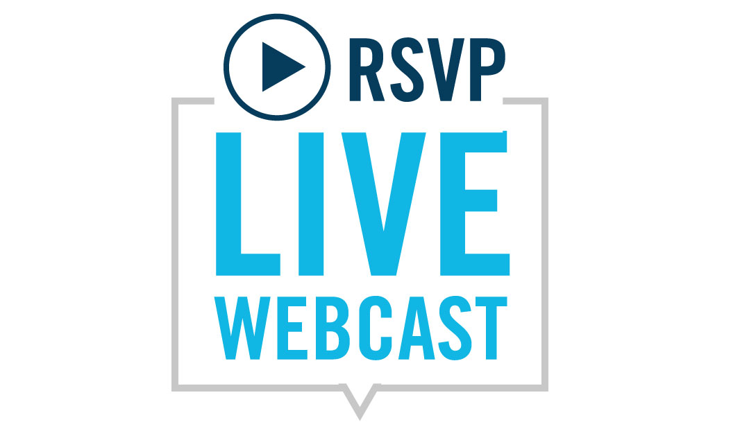 Live Webcast - Virtual Events - Register Here