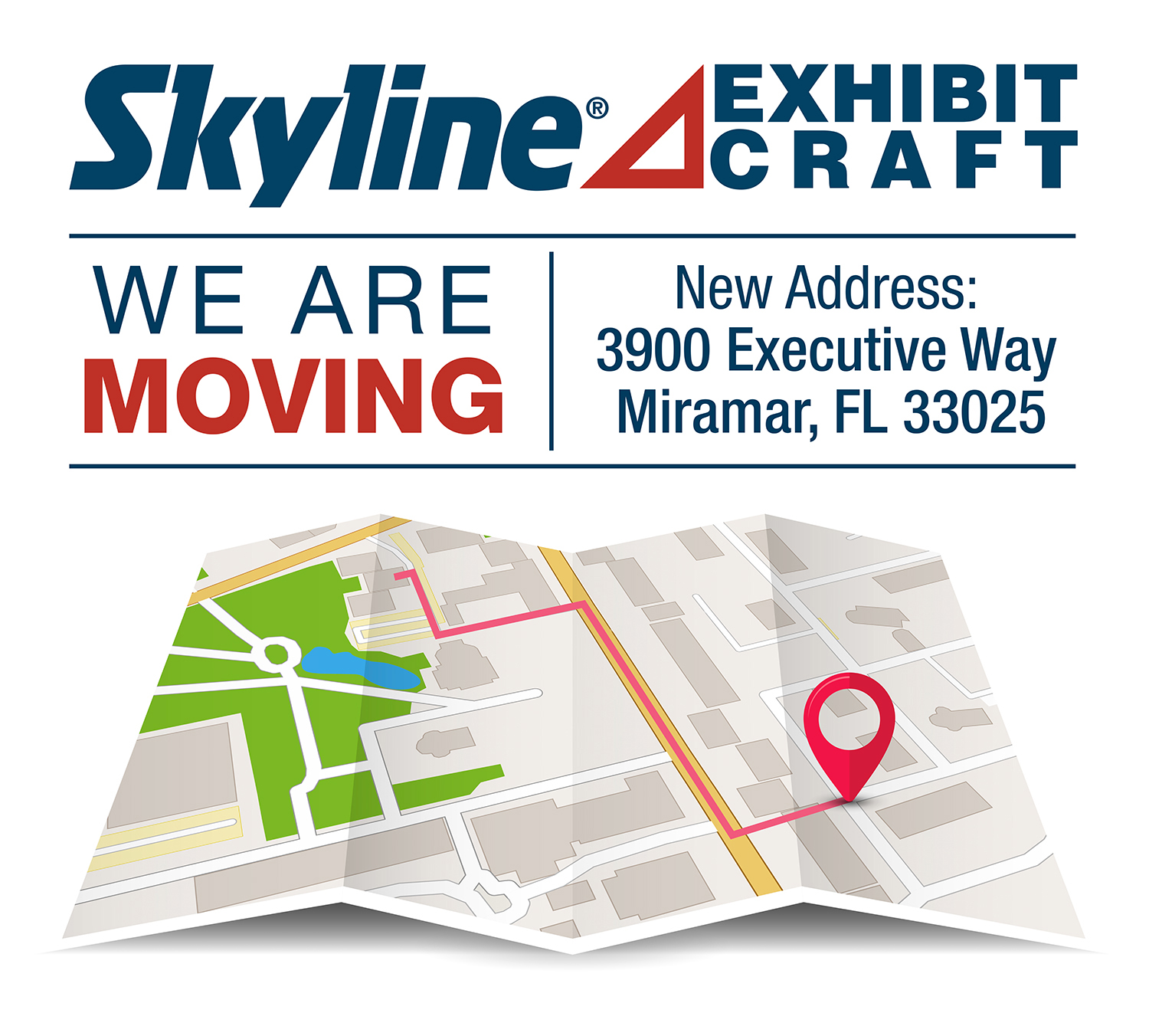 Map to Skyline Exhibit Craft | South Florida & The Caribbean