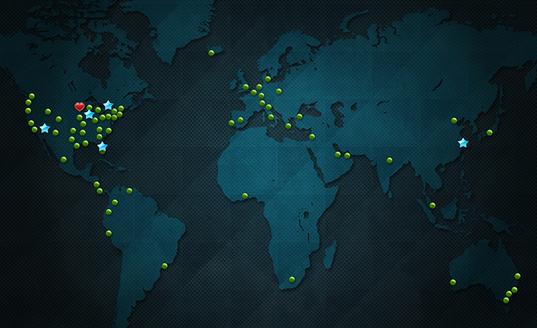 Messestandlösungen – Messeservice – globales Skyline-Netzwerk
