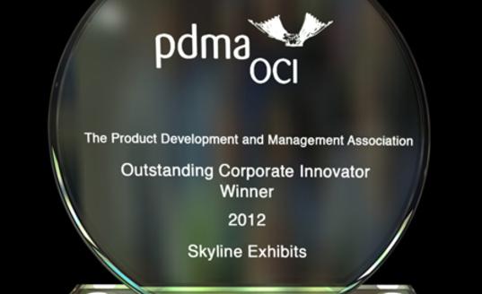 "Skyline Exhibits gewinnt den ""Outstanding Innovator Award"" 2012"