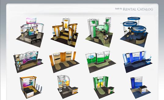 各种展板、展台、展具租赁 — Skyline