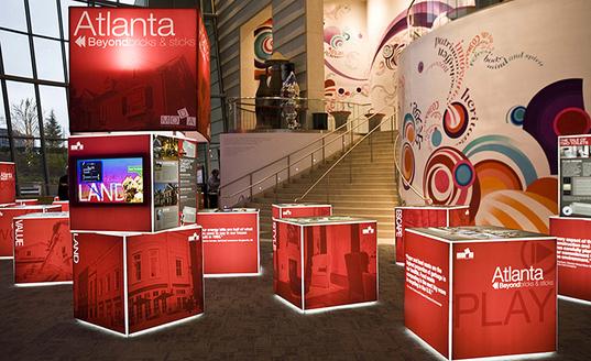 Skyline – Ideas para diseños de Exhibiciones para ferias de negocios y eventos