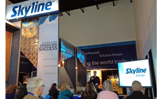 Skyline Chicago's Free Live Educational Seminars Offer Tips on Trade Show Concepts and Designs to Marketing and Event Professionals.
