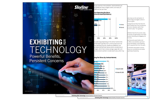 trade show events displays education technology white paper