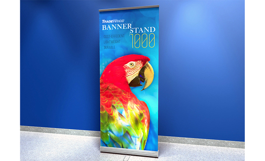 bannerstand exhibiting tradeshow skyline events displays