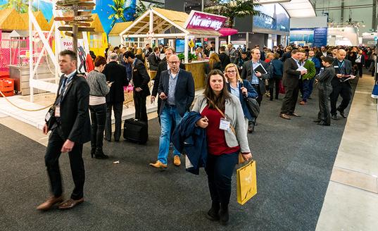 tradeshow exhibiting united states event