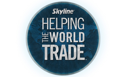 helping the world trade exhibiting skyline displays events