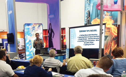 Learn Free Trade Show Tips at Our Next Free Seminar - Skyline Philadelphia Trade Show Exhibits